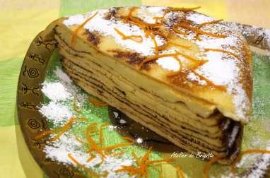 Gâteau de crêpes, d'après Christophe Felder