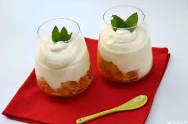 Ananas rôti rhum vanille et crème au rhum
