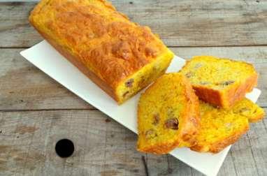 Cake salé poulet rôti et mimolette