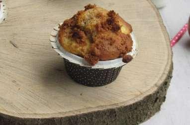 Muffins pommes et spéculoos