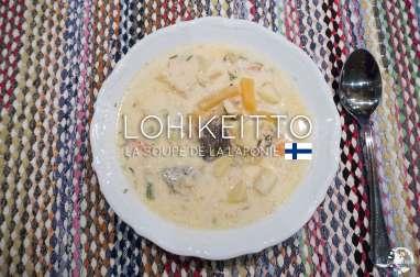 Lohikeitto, la soupe au saumon de Laponie