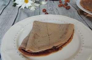 Pâte à tartiner & crêpes aux deux farines