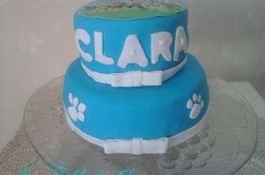 Molly cake d'anniversaire
