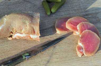 Filet mignon de porc séché pas à pas