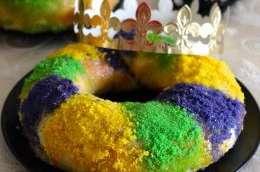 King Cake de Mardi Gras