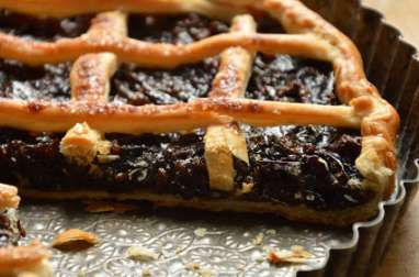 Tarte aux pruneaux de Mardi gras