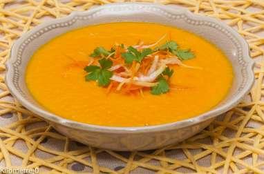 Soupe carottes orange