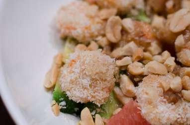 Salade de crevettes et de pamplemousse à la thaï
