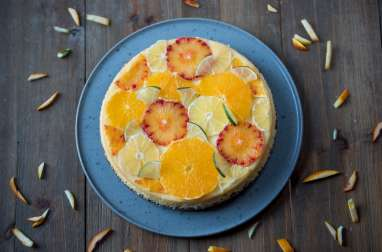 Cheesecake aux agrumes