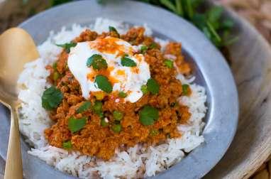 Curry Keema Matar