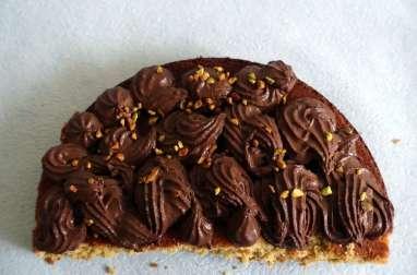Gâteau moelleux pistache chocolat