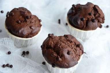 Muffins farine de châtaigne chocolat