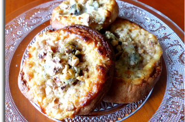 Brioches russes au fromage