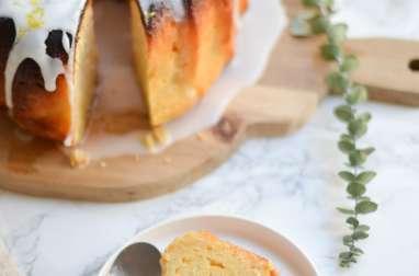 Bundt cake fondant au citron