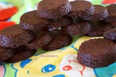 Sablés breton au chocolat de Mr Conticini