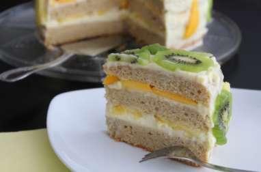 Molly cake aux fruits frais