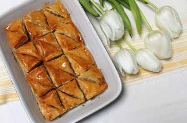 Baklava bulgare aux noix