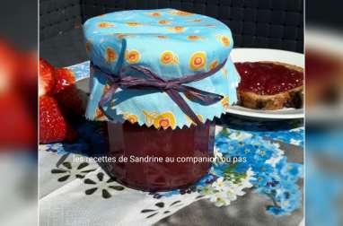 Confiture de fraises vanille maison