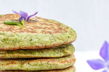 Blinis au brocoli sauvage