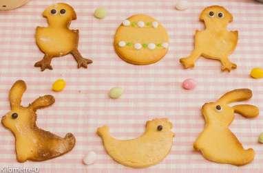 Petits sablés de Pâques