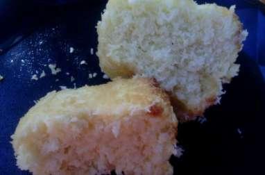 Gâteau sans gluten à la noix de coco