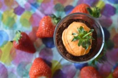 Carottes surprises et crème chocolat