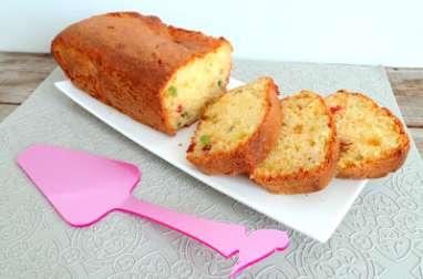 Cake aux fruits confits et bergamote
