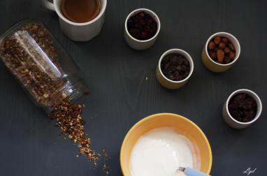 Granola au beurre de coco et au miel