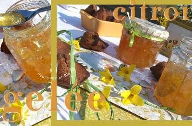 Gelée de citron bergamote