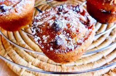 Muffins au yaourt choco-noisettes