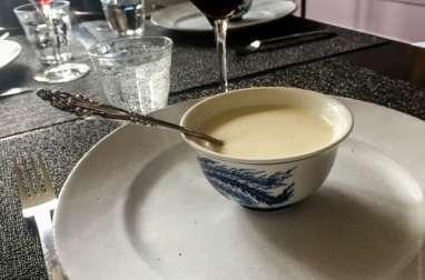 Velouté d'asperges blanches 100% végétal