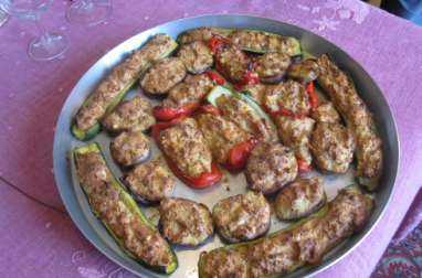 Légumes farcis alla ligure
