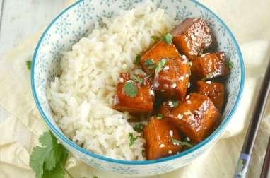 Tofu au caramel