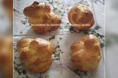 Recette facile de la pâte à choux