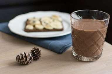 Smoothie protéiné chocolat banane