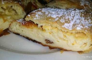 Túrós rétes ou Strudel au fromage blanc