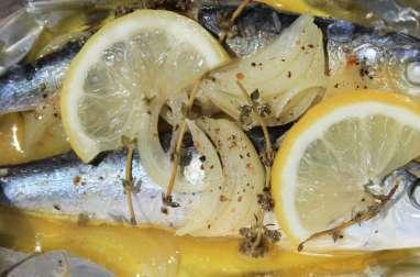 Sardines en papillote