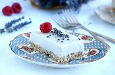 Cheesecake yuzu et noix de coco