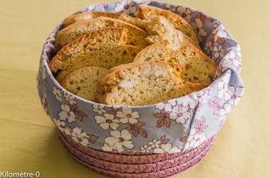 Tozzetti toscans aux graines de chia
