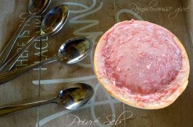 Pamplemousse rose givré vanillé