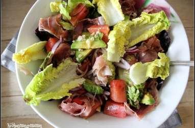 Salade fraicheur au Jambon de Parme
