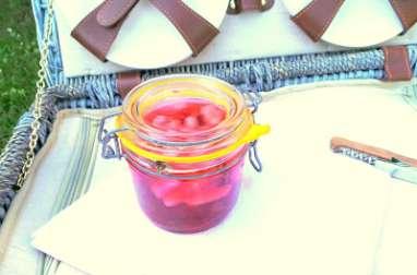 Pickles de radis au miel, aromates et baies de Sichuan