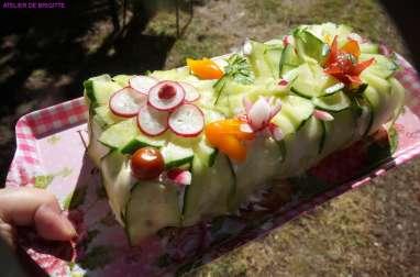 Sandwich cake thon et surimi