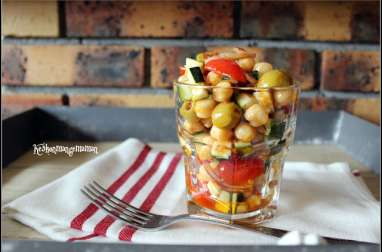 Salade estivale de pois chiches