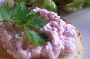 Tartinade aux radis et au yaourt