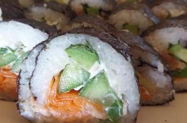 Maki et sushi