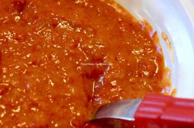 Sauce alcaline de poivrons