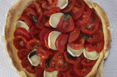 Tarte tomate / chèvre / basilic