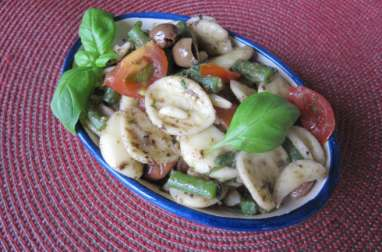 Salade de pâtes orecchiette