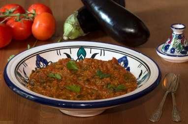 Zâalouk ou caviar d'aubergines
